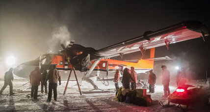 South Pole rescue flight of 2 sick workers leaves Antarctica